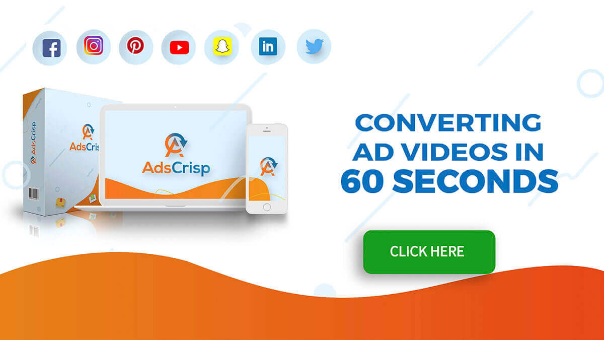 Adscrisp Review: 37-in-1 Video Ads Creation Suite [Discount & $10,000 Bonuses]